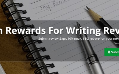 Earn Rewards For Writing Review